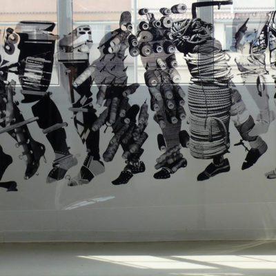 New Walk , exhibition, Poble nou amb Palestina, Can Felipa, Barcelona